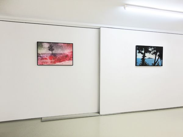 Alexis Vasilikos | Masks & the Oceanic Installation View CAN gallery