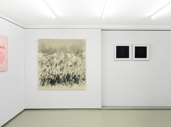 Installation View, Voula Priovolou (left), Nina Papaconstantinou (right)