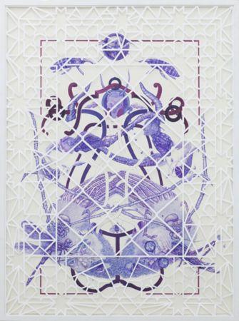 Dimitris Tataris, Franz Kafka, The Metamorphosis, mixed media and handmade cut out on paper, 120x90cm