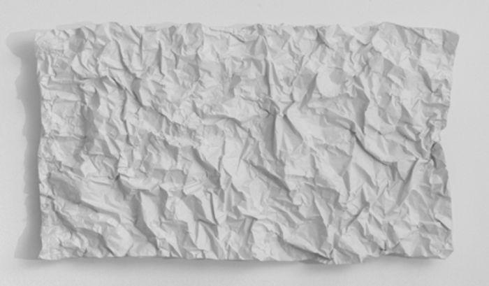 Yorgos Maraziotis, Untitled, 2015, Plaster, 65x38cm, Courtesy of Nitra gallery