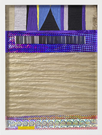Yudi Noor, Reaching in the End, 2012, Mixed media collage, 42x32x5cm