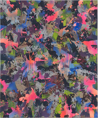 Yorgos Stamkopoulos, New Reign Of Power, 2013, Acrylic on Canvas, 120x100cm