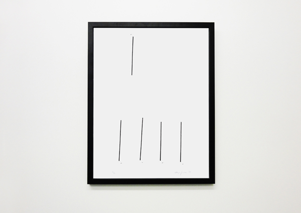 Yorgos Maraziotis, Untitled, 2013, Silkscreen Print, 48x60cm, Unique