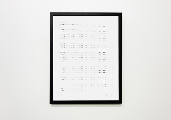 Yorgos Maraziotis, Untitled, 2013, Silkscreen Print, 48x60cm, Edition of 7