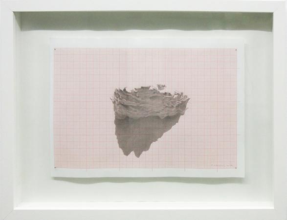 Pantelis Chandris, Topos 2, 2013, pencil on paper, 32x42cm