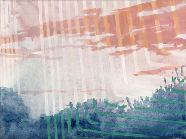 Michelle Jezierski AIRGLOW, AIRGLOW, 2011, oil on canvas, 30x40cm