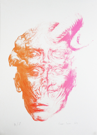 Yiorgos Tourlas, Untitled, 2013, silk screen on paper, 42x59cm, ed.3_8