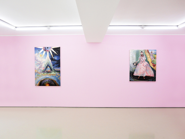 Konstantinos Ladianos, Pink Boudoir, solo show, Installation View
