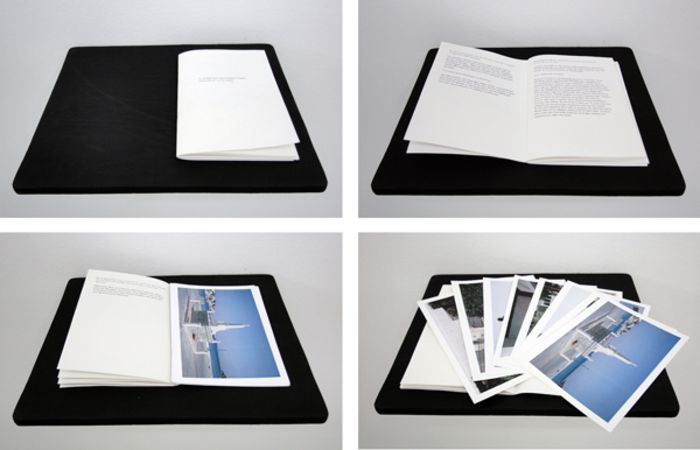 Nicolas S. Lemos Interview, 2012, Book, 16p. and 12 prints on Fujifilm Paper, 14,8x10,5cm each, ed.30