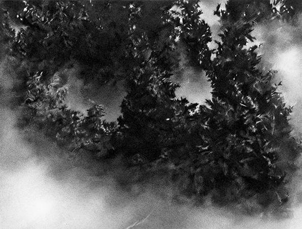 Maria Kriara, Untitled, 2014, Drawing, Graphite on paper, 80x120cm, detail