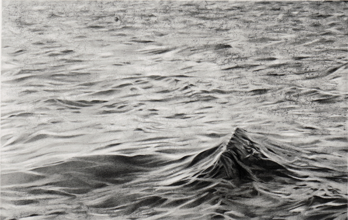 Maria Kriara, Untitled, 2014, graphite on paper, 80x120cm, detail