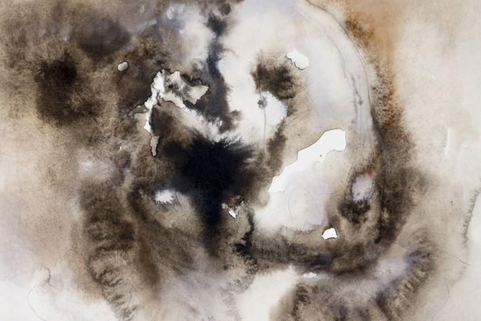 Marianna Ignataki, Nude, 2014, watercolor, pencil and pastel on paper, 28x38cm