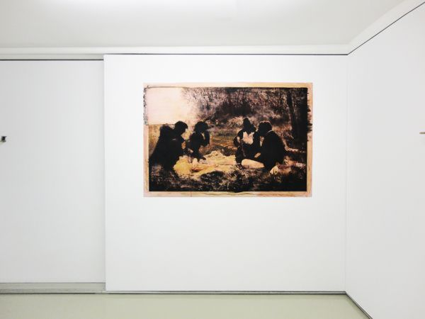 Maro Fasouli, Picnic in North Korea, Installation View  Courtesy of CAN Christina Androulidaki gallery and the artist
