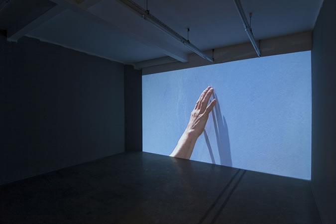 :mentalKLINIK, Trueblue(Left), 2009, Single channel video, Color, No sound, 30', Loop