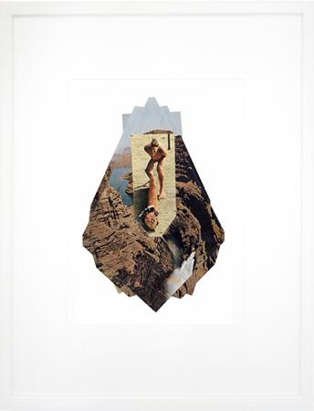 Giorgos Tserionis, Mature Topography (series), m to 38, origami, 27x17cm
