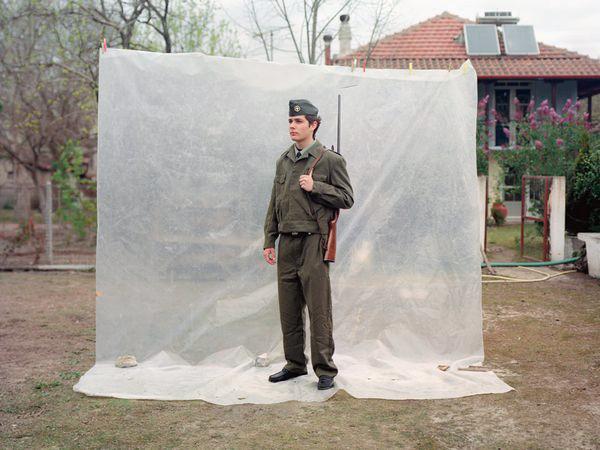 Petros Efstathiadis, Soldier, 2008, C-print on paper, 110x82cm, ed.5