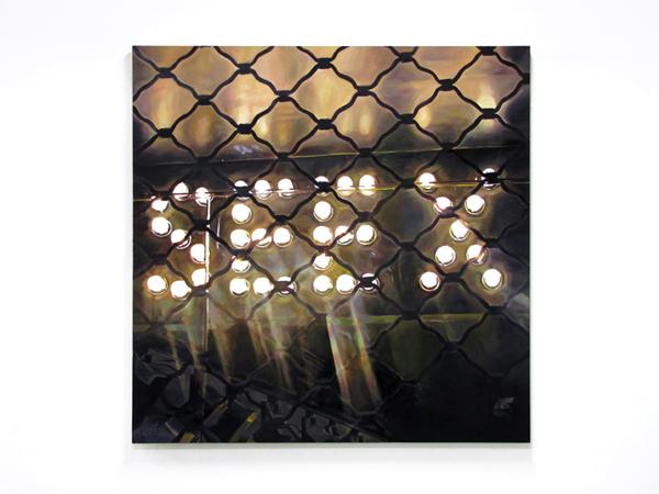 Sotiris Panousakis, SEE X, 2010, oil on canvas, 140x140cm