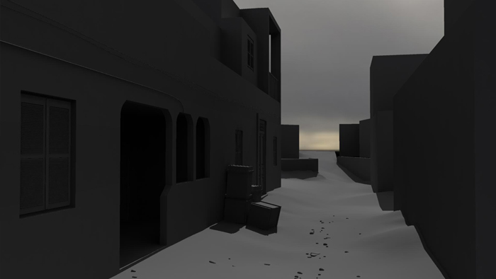 Stelios Karamanolis - Battlefield I, 2012, 3D render, ed. 1/3, 39x21cm