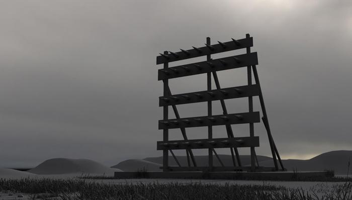 Stelios Karamanolis - Battlefield IV, 2012, 3D render, ed. 1/3, 39x21cm