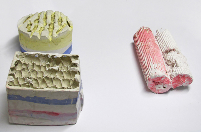 Tula Plumi, No1 (Molds), 2011, detail