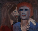 Celia Daskopoulou, Untitled, 1981, oil on canvas, 81x100cm