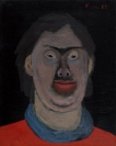 Celia Daskopoulou, Untitled, 1982, oil on canvas, 50x40cm