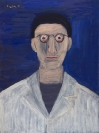 Celia Daskopoulou, Untitled (Doctor), 1991, acrylic on canvas, 80x60cm