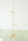 Nikos Alexiou, Untitled, reed, string