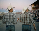 Nikolas Ventourakis, Untitled (Two Cowboys), 2016, C-print mounted on Dibond, 60,96x50,8cm