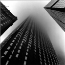 Dimitra Lazaridou, Untitled (Air Chicago series), 1996, Photographic Print on Fuji multigrade paper, 28x28cm