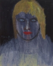 Celia Daskopoulou, Untitled, 1981, Oil on canvas, 50x40cm