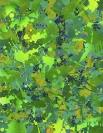 Yorgos Stamkopoulos, Green Heaven, 2014, Acrylic on Canvas, 45x35cm