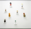 Nana Sachini, Architecture is Frozen Music, 2010, mixed media, dimensions variable_Courtesy of the artist and a.antonopoulou gallery
