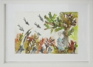 Zoi Gaitanidou, Untitled, ecolines on paper, 22x29cm