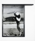 Vassilis H., Atlas, 2011, Metal frame, C-print, 37x38cm