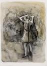 Marianna Ignataki, The braid, 2016, 59x43cm, watercolor, pencil, colored pencil and pastel on paper