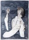 Marianna Ignataki, Comparative Definition of the Underneath, 2014, watercolor, gouache, pencil and colored pencil on paper, 77x57cm