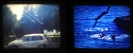 Natasa Efstathiadi, Diving, dualview, 3-minute, 16mm film