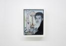 Emmanouil Bitsakis, Robert Fulton, 2014, Acrylics  on cardboard, 12,5x9,5cm