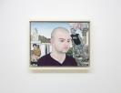 Emmanouil Bitsakis, Quarry, 2009-2018, Oil on wood, 18x24cm