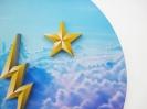 Pavlos Tsakonas, Sky Goddess, 2017 Painting, acrylics on plywood, 72x72cm, detail