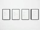 Maria Kriara, Crack Poems, 2017, Digital Print On Matt Photographic Paper, 29,7x21cm each