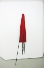 Kostis Velonis, You just fail, 2010, felt, acrylic, wood, 197x57x7cm