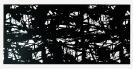 Lefteris Tapas, Shadowgarden, 2013, cuT paper, 120x224cm