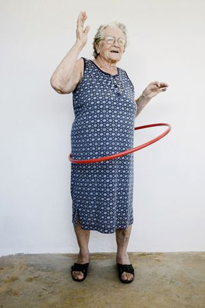 Alexis Vasilikos, Untitled (Grandmother), 2013, Inkjet print on fine art paper mounted on forex, 40x60cm
