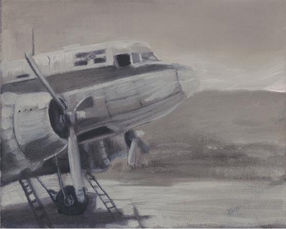 Vasilis Zografos, Untitled, 2006, Oil on canvas, 20x25cm