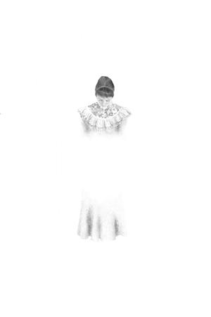 Eva Marathaki, Soulscape, 2013, graphite on paper, 60x40cm