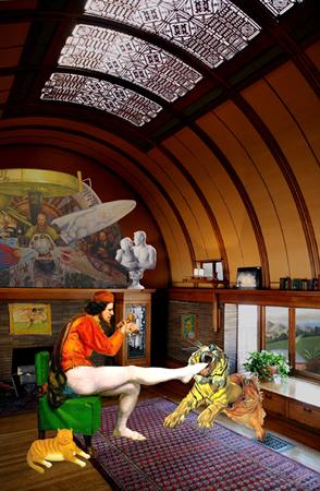 Artemis Potamianou, Re-view series, Strangeland, 2011, c-print on plexiglass, 45x29cm, ed.5