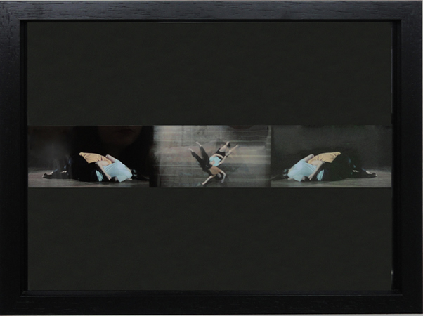 Maria Dabow, I Suck My Tongue in Remembrance of You, 2013, C-print from video still, 26,5x32,5x3cm
