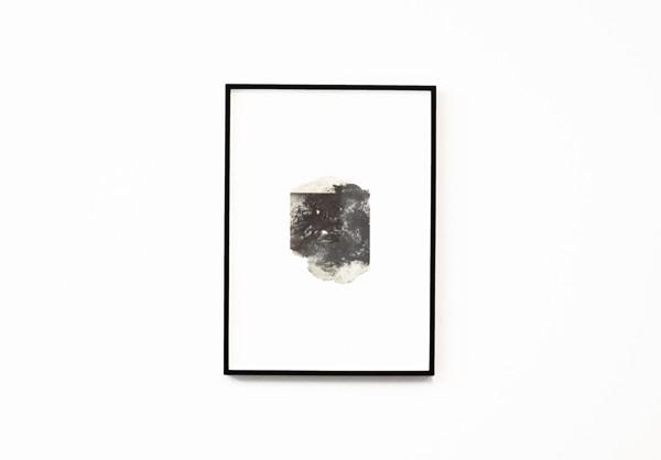Lefteris Tapas, Isle I, 2019,  paper pulp, graphite, natural earth pigments, 15,5x11,5cm Courtesy of CAN Christina Androulidaki gallery